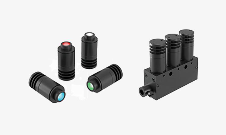 【シーエスエス】検査用LED光源「HLV3-22-4-NR」「HLV3-3M-RGB-4」の紹介の画像