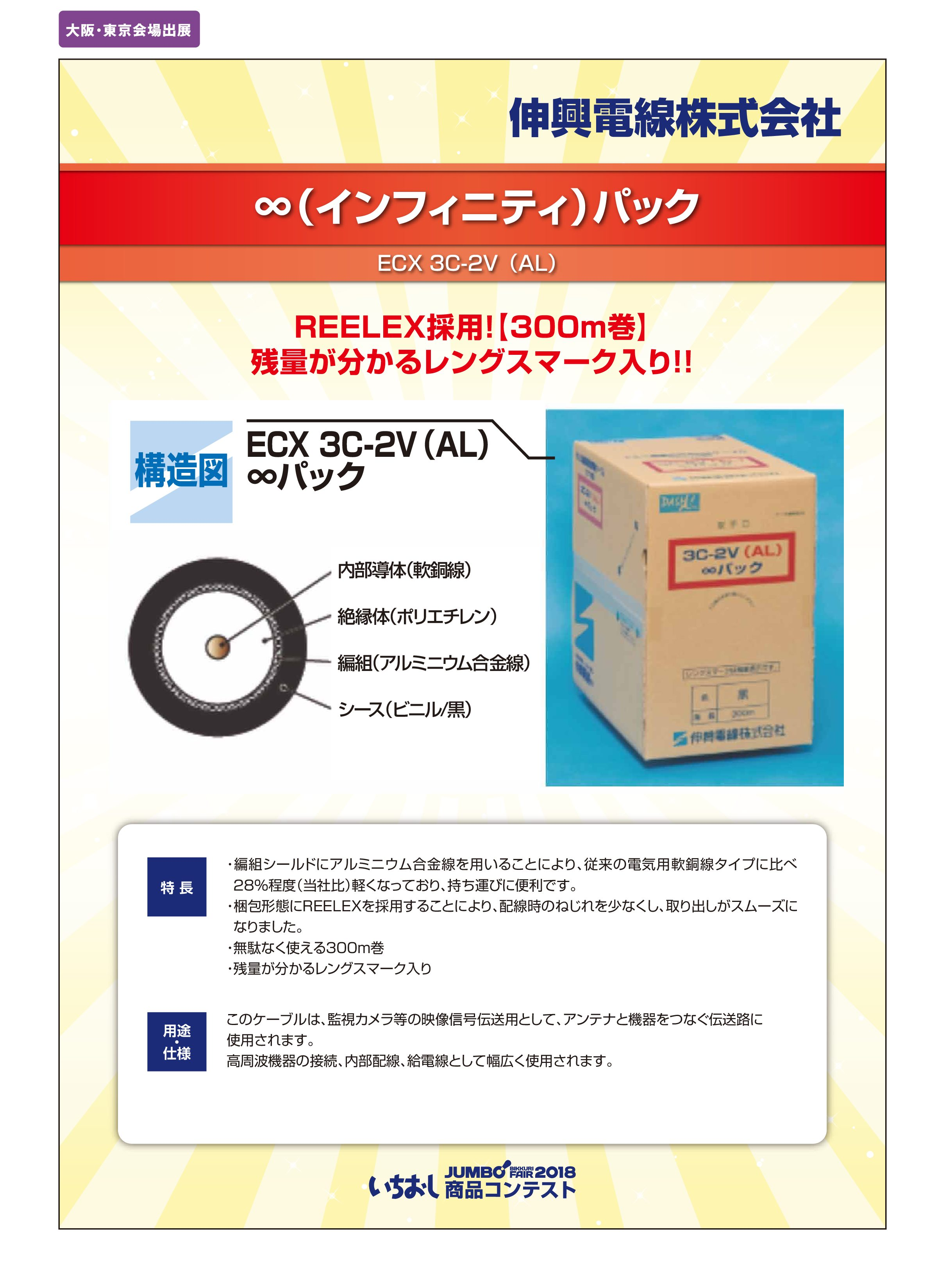 「∞(インフィニティ)パック」伸興電線株式会社の画像