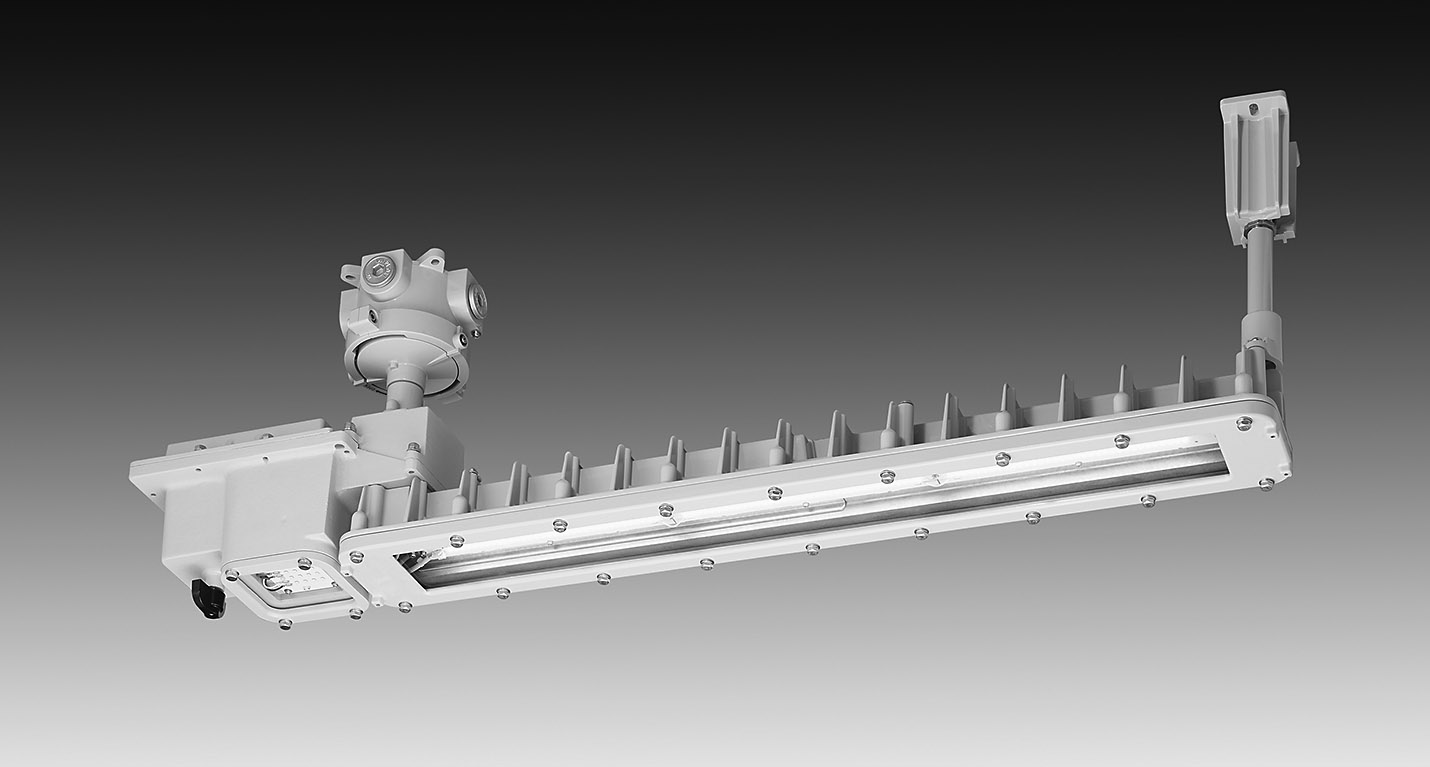 岩崎電気 防爆形非常用LED照明器具 第一類・第二類 危険箇所のLED化実現の画像