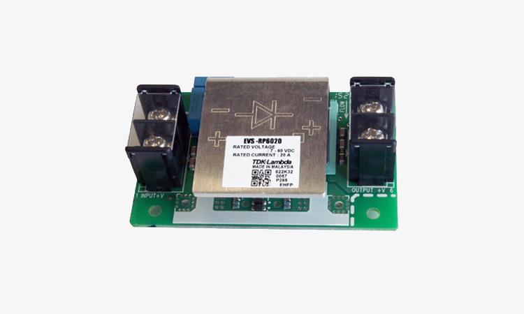 【TDKラムダ】蓄電池充電用電源EVSシリーズに逆流防止モジュール「EVS-RP」をラインアップの画像