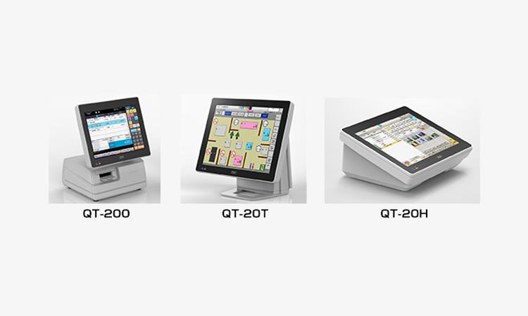 【東芝テック】専門店向けPOSターミナル「QT-200/QT-20T/QT-20H」が販売されました。の画像