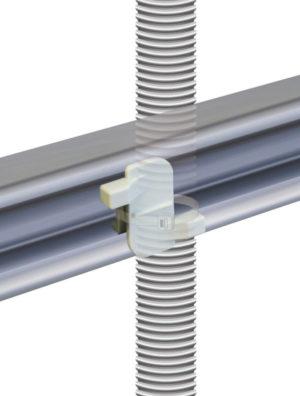 【ヘラマンタイトン】PF管をしっかり簡単固定 。金属製チャンネル用マウントを新発売の画像