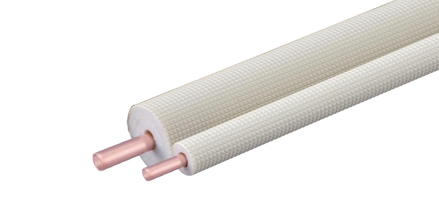【因幡電工】空調用被覆銅管ペアタイプ国土交通省標準仕様合致品新発売の画像