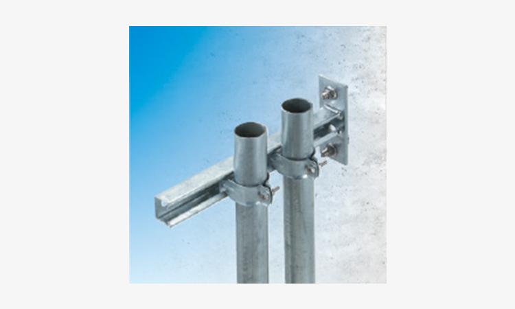 【ネグロス電工】壁面に取り付けるだけの管固定金具 ダクターブラケットを販売開始の画像