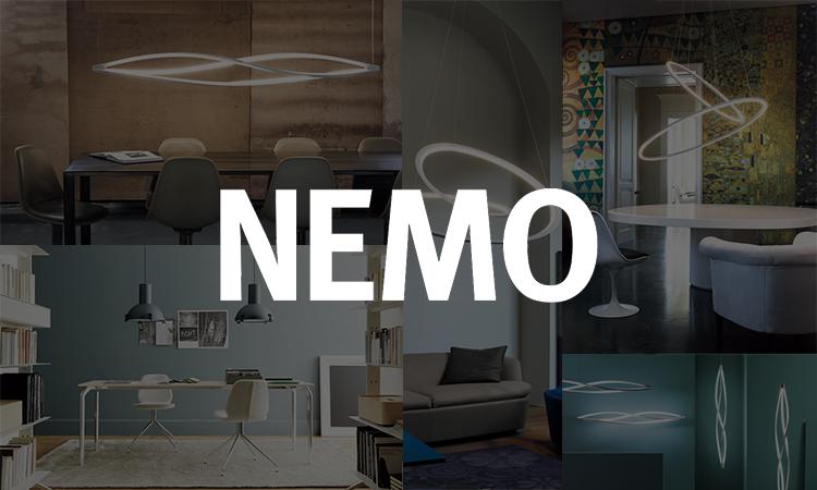 【大谷電機】イタリアの照明ブランド「NEMO」の製品を公開の画像