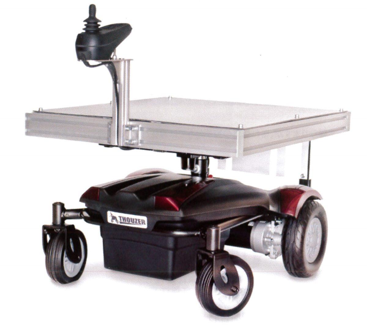 【日本ユニシス】追従運搬ロボット「THOUZER(サウザー)」販売の画像