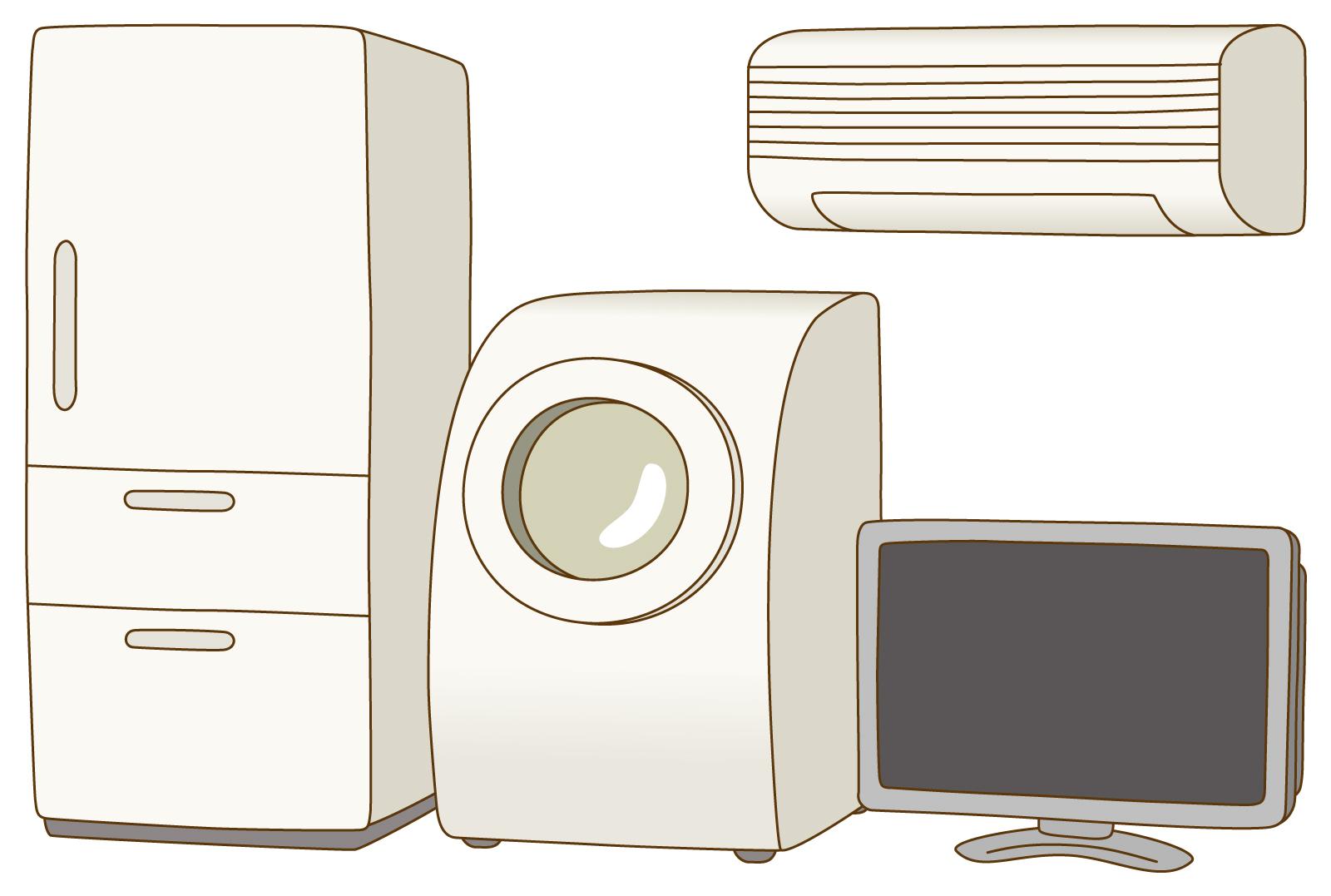 17年度家電リサイクルの画像
