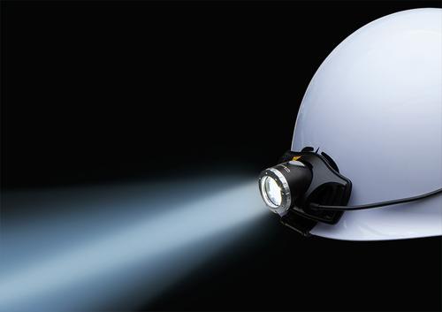 【長谷川電機工業】着脱が簡単! LEDヘルメットライト  「EHL‐5型」新発売の画像