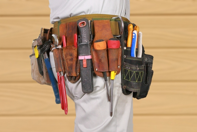 電工さんの工具箱 第6回「腰袋」こだわりの腰道具の画像