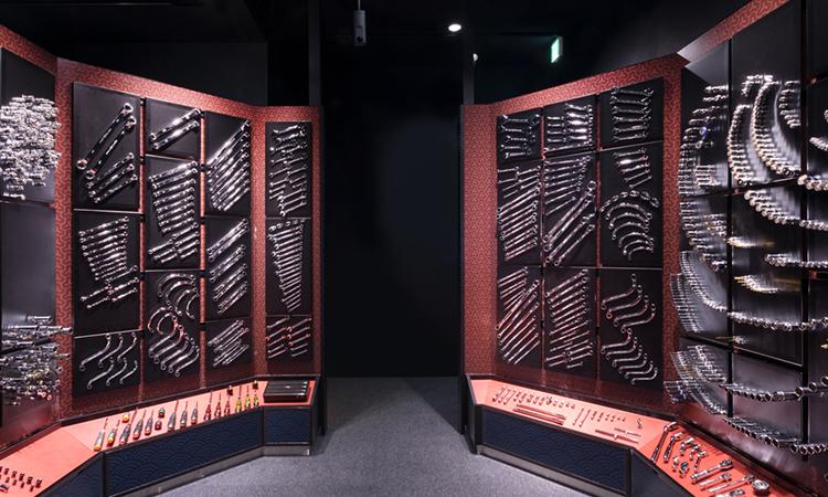 【京都機械工具】工具の魅力を全身で感じるライブ空間「nepros museum360°」を公開の画像