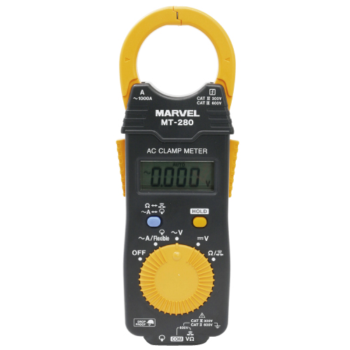 【マーベル】軽さ100g!薄さ16mmのポケットサイズのACクランプメータ『MT-280』を新発売!!の画像