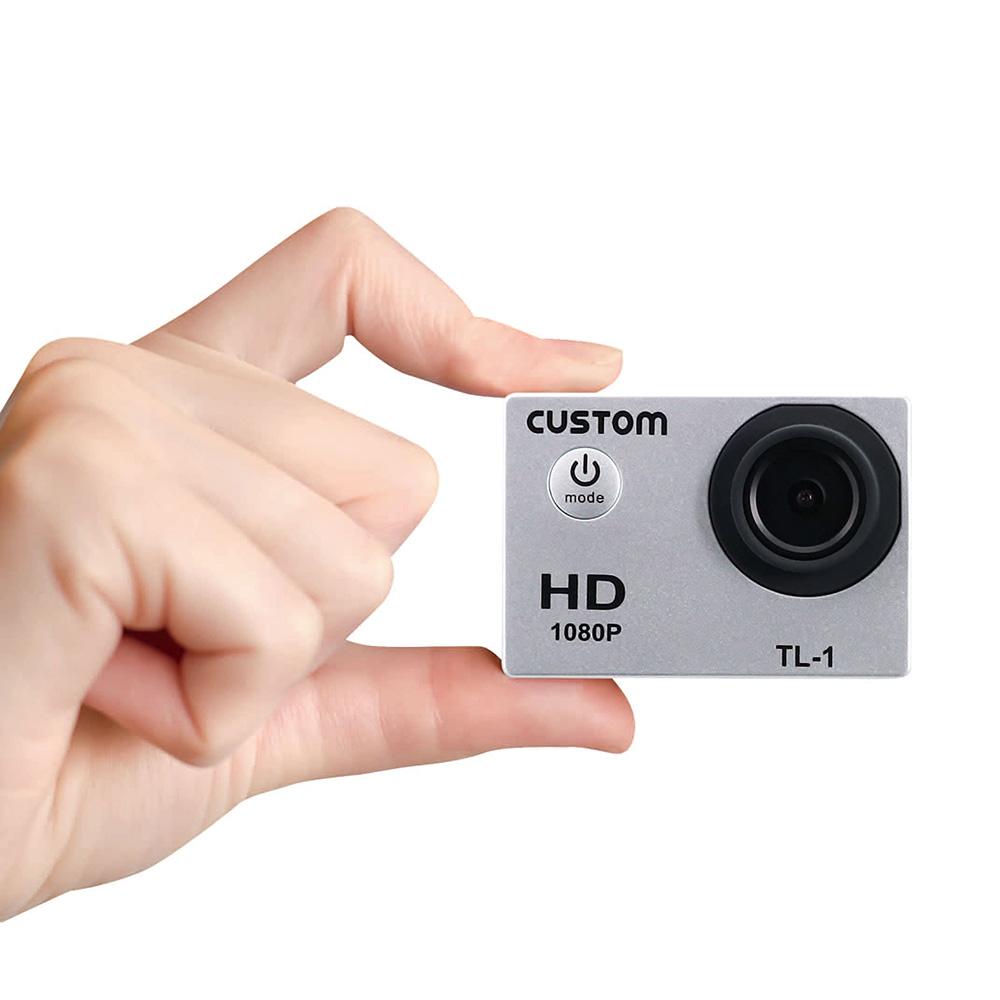 【カスタム】ウェアラブルカメラ『TL-1』、『TL-2』新発売!ウェアラブルカメラ と タイムラプスカメラ の機能をこれ一台で!の画像