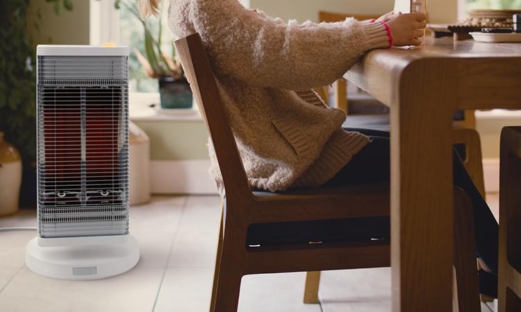 【ダイキン工業】モダンデザインで節電機能も付いている赤外線暖房機を販売開始の画像