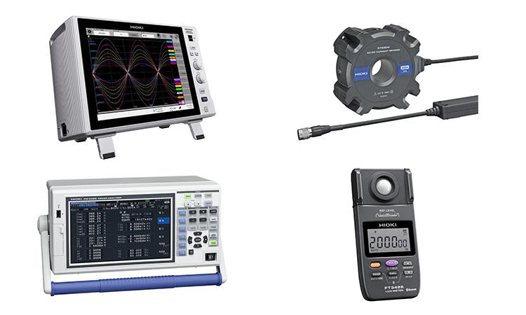 【日置電機】メモリハイコーダや照度計など4製品が2018年度グッドデザイン賞を受賞の画像