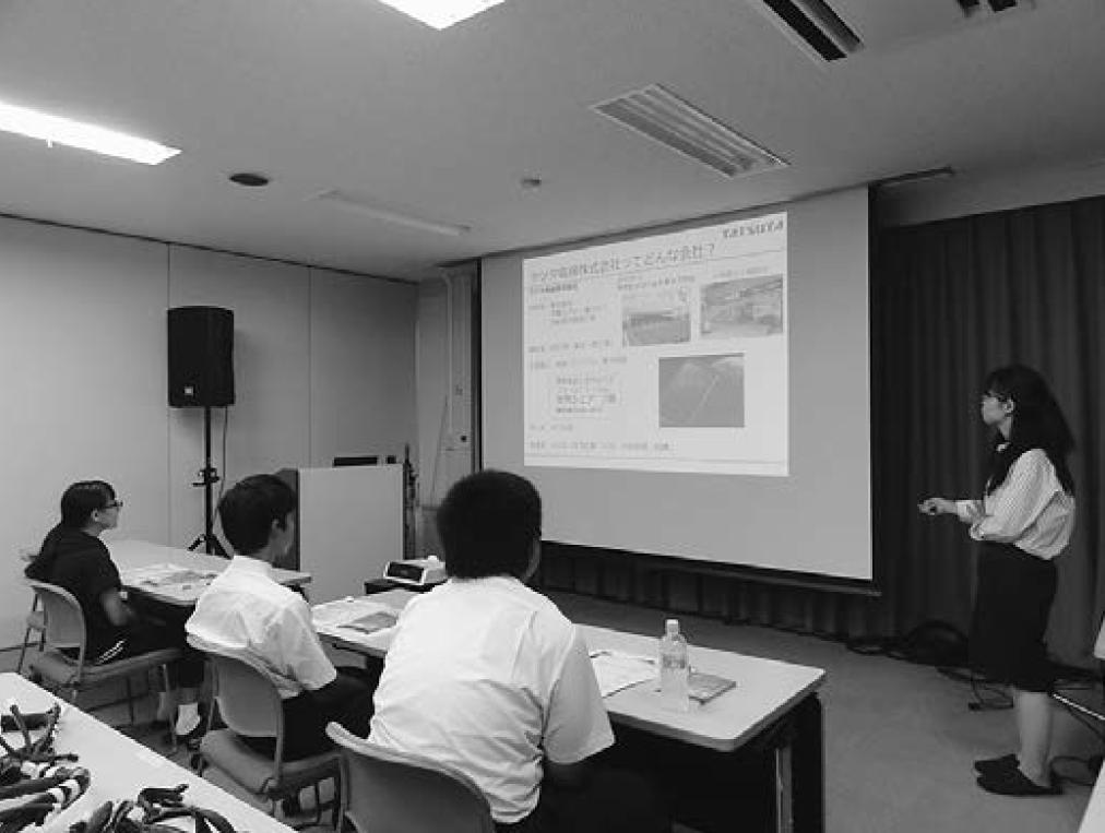 日本電線工業会 未来につながる電線教室 理工系分野に興味がある 女子中高生らを応援の画像