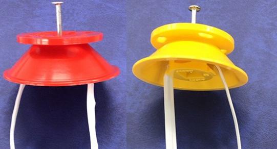 【JAPPY】釘1本で取付可能!ケーブル支持具『UFOインサート(型番:JCS1)』新発売!!の画像