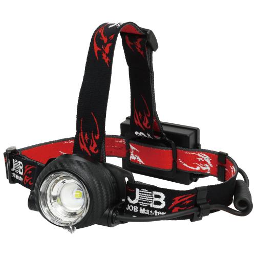 【マーベル】連続点灯18時間!USB充電式LEDヘッドライト『JHD-880R』新発売! の画像