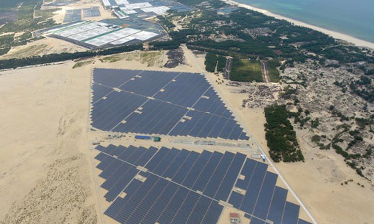 【シャープ】ベトナム初の太陽光発電所が運転開始の画像