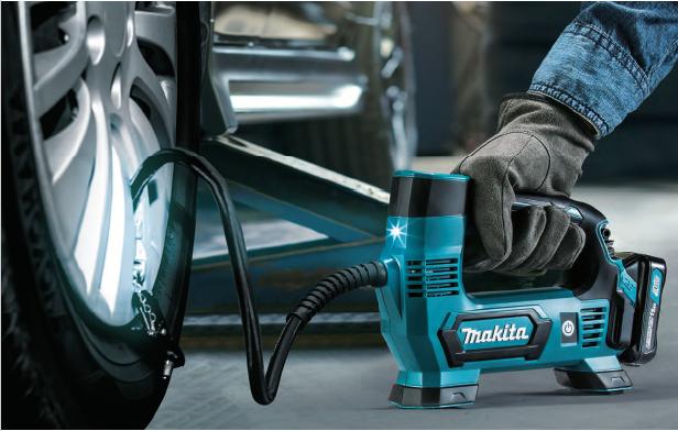【マキタ】10.8Vスライドバッテリでラクラク!充電式空気入れ『MP100DSH』新発売!!の画像