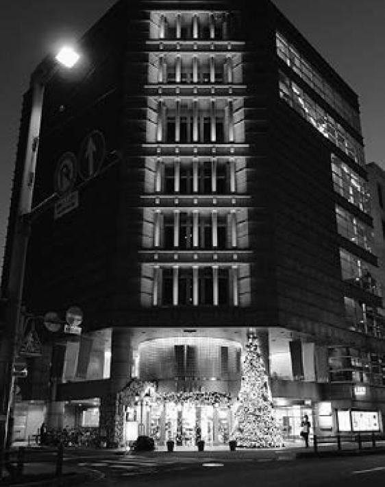 地域に根づく電材商社① 宮地電機(高知市) 珍しいデザイン部門 圧巻はクリスマスツリーの画像