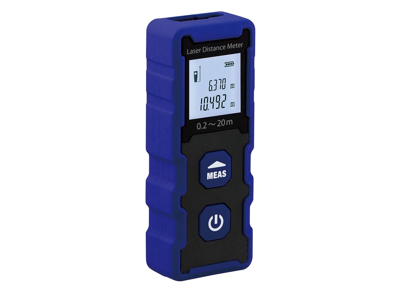 【カスタム】手軽で簡単、瞬時に測れる!レーザー距離計『LR-20』新発売!の画像