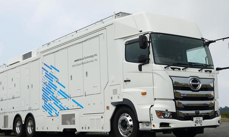 【フォトロン】4Kテレビ対応のプロダクションサーバをNHK中継車に納入の画像