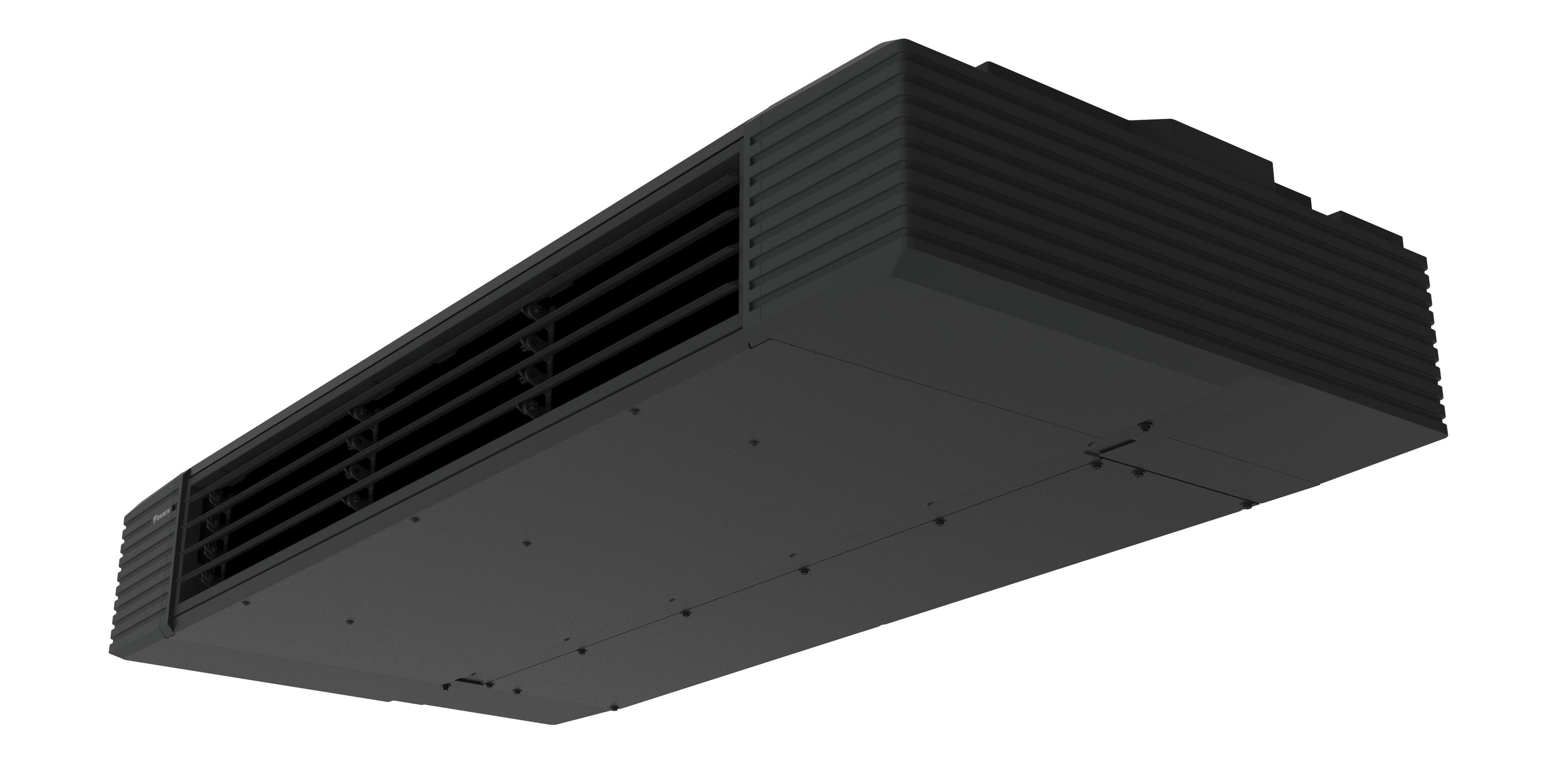【ダイキン工業】黒と直線的なデザイン、心地よい空間づくりにこだわった業務用室内機『スタイリッシュフロー』新発売の画像