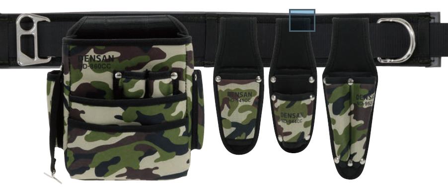 【ジェフコム】人気の迷彩カラーを採用した腰道具セット新発売!!の画像