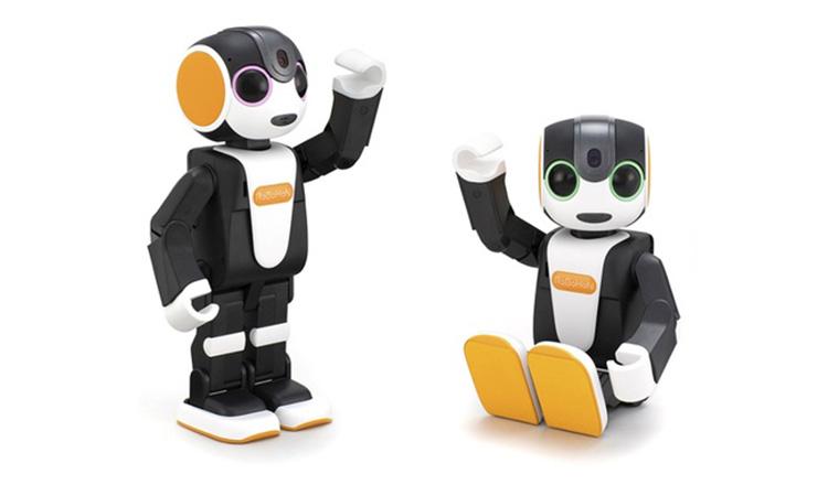 【シャープ】プログラミングも可能なコミュニケーションロボット「ロボホン」を発表の画像