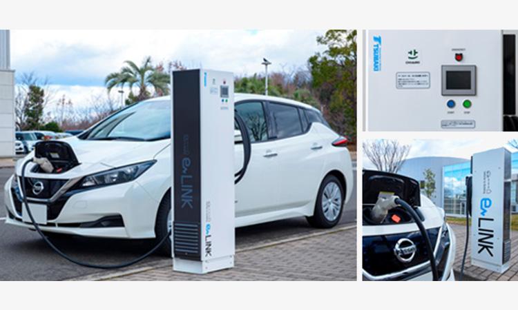 【椿本チェイン】EV車やPHEV車用の充放電装置をバージョンアップの画像