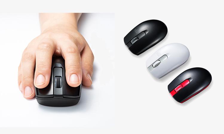 【サンワサプライ】電池交換なしで約二年間動作する長寿命型ワイヤレスマウスを販売開始の画像