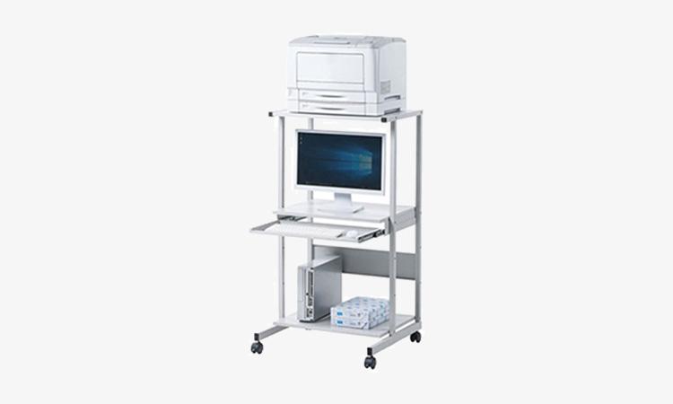 【サンワサプライ】パソコン、周辺機器をまとめて収納できる省スペースパソコンラックを発売の画像