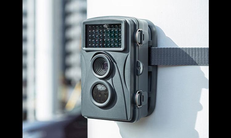 【サンワサプライ】暗闇でも撮影可能な配線不要小型セキュリティカメラを販売開始の画像