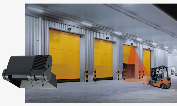 【オプテックス】工場や倉庫の出入口に最適なシャッターセンサーを販売開始の画像