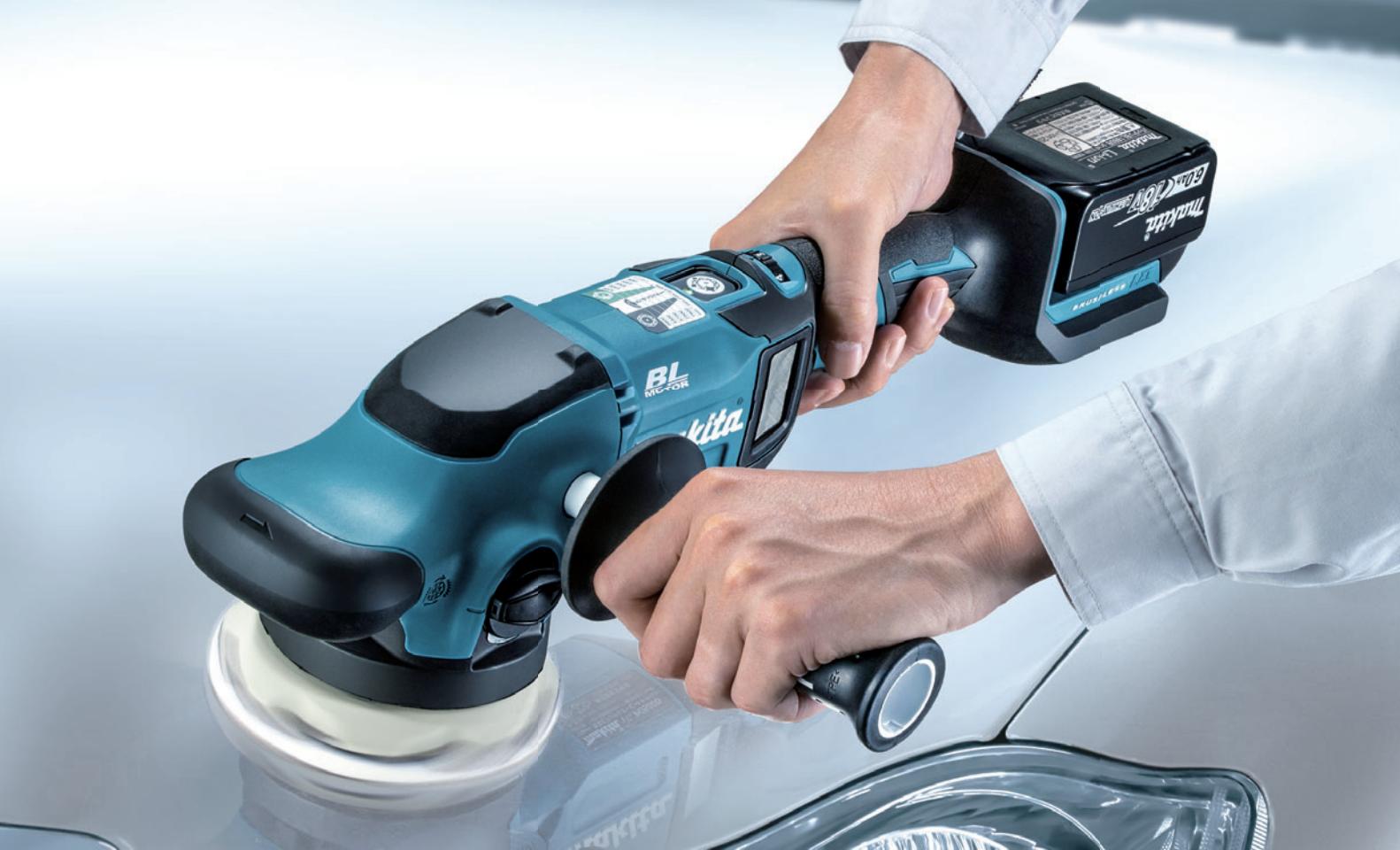 【マキタ】125mm充電式ランダムオービットポリッシャ『125mm充電式ランダムオービットポリッシャ』の画像