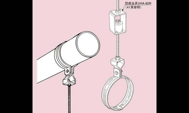 【南電機】厚鋼電線管用吊りバンドの仕様を公開の画像