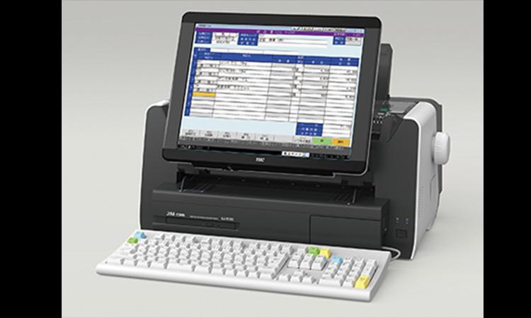 【東芝テック】スタイリッシュなデザインの省スペース事務用コンピュータを販売開始の画像