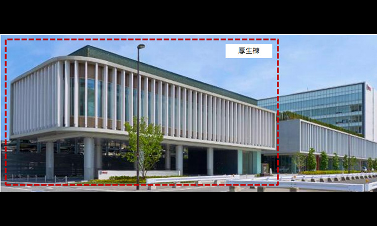 【IDEC】福利厚生の一環としてフィットネスジムも備えた宿泊施設を本社隣りに新設の画像