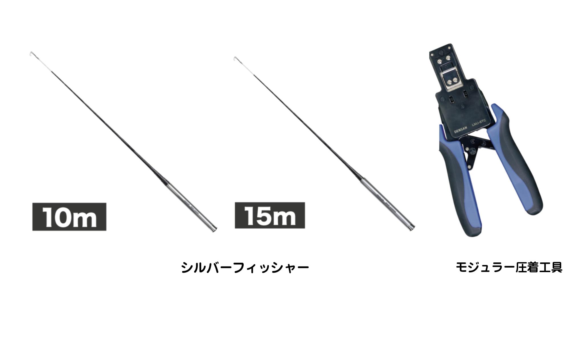 【ジェフコム】 シルバーフィッシャーとモジュラー圧着工具が好評の画像