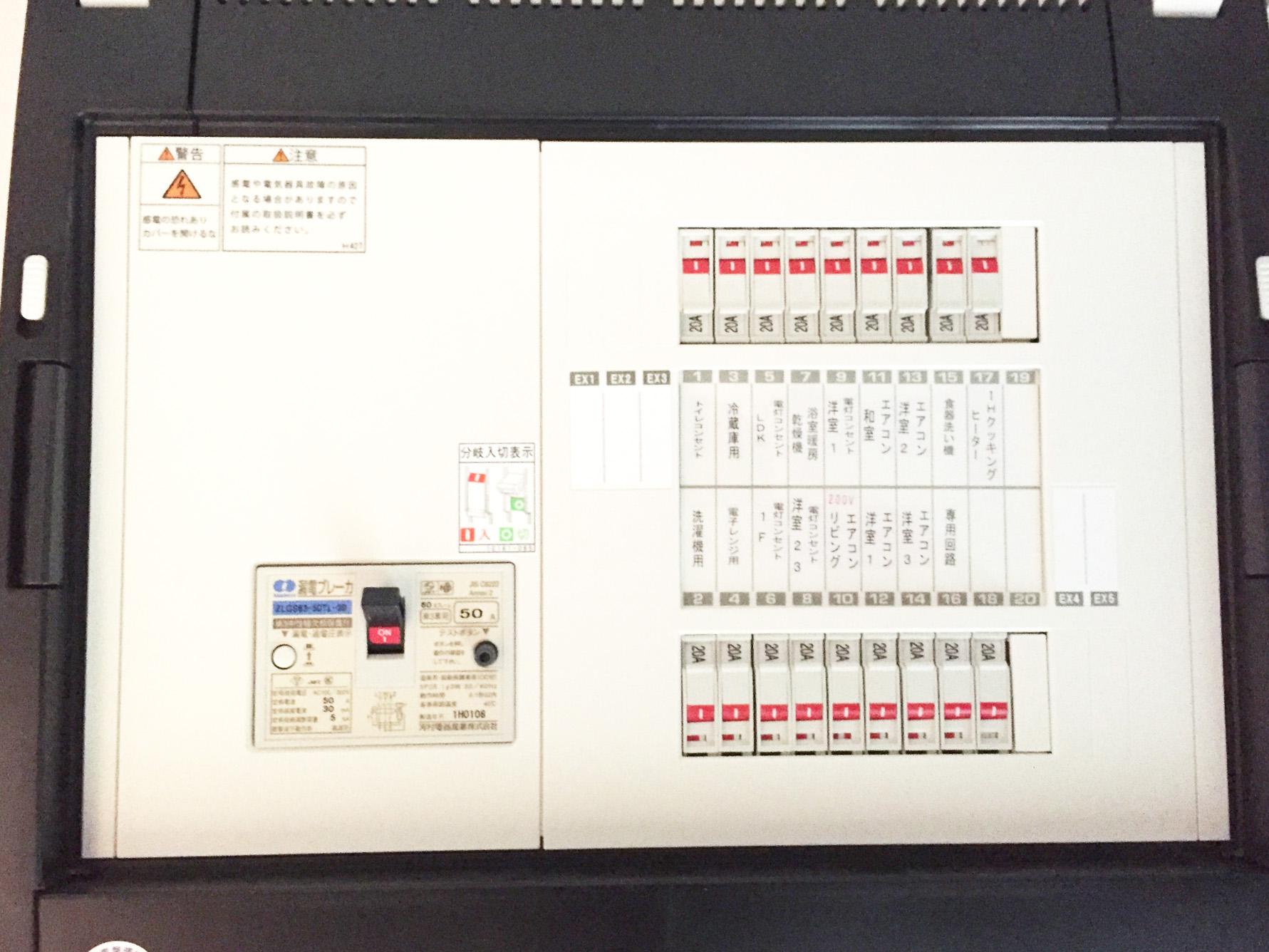 住宅用分電盤の動向の画像