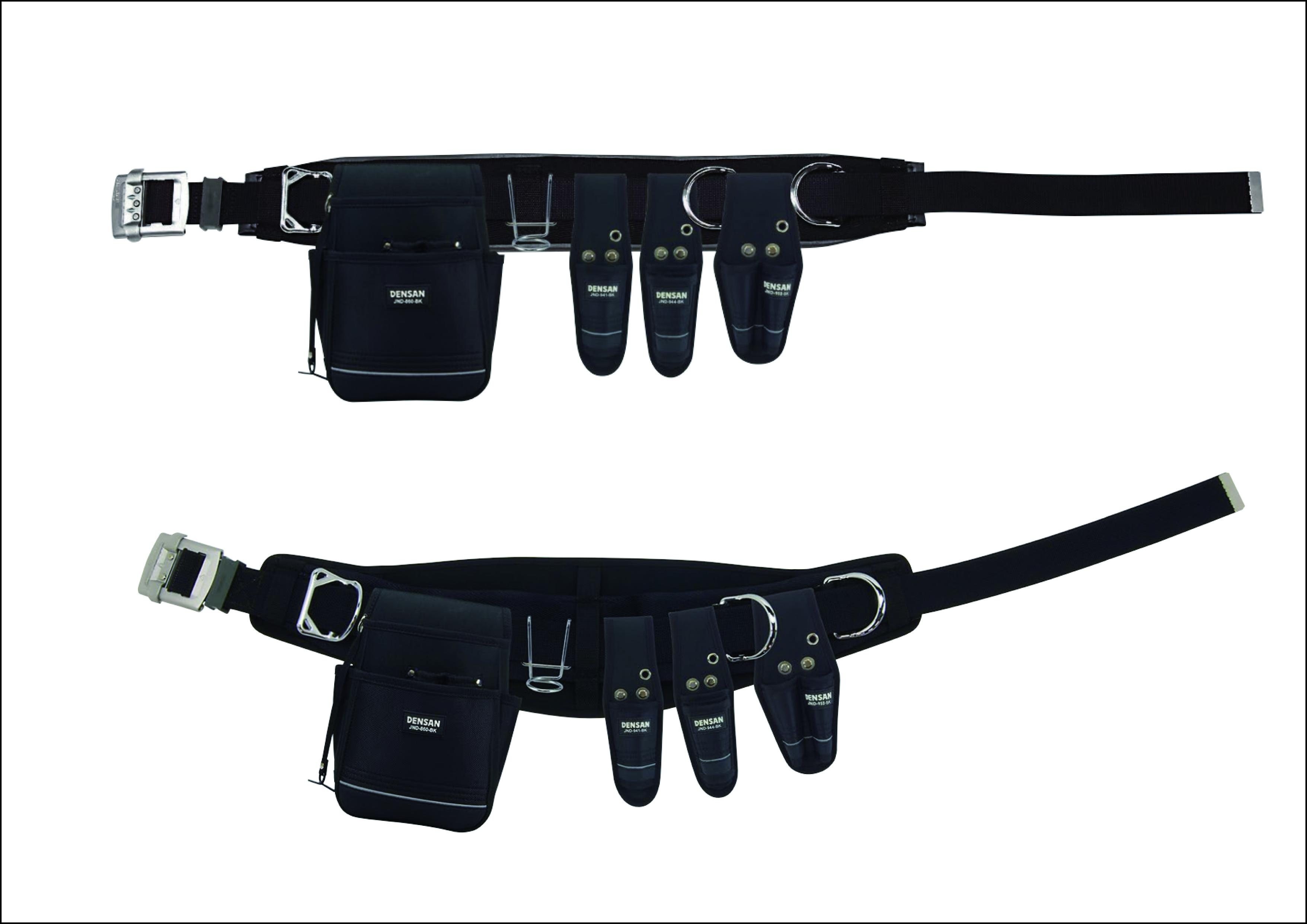 【ジェフコム 】「柱上安全帯用ベルト」が「ワークポジショニング用器具」に! 『腰道具セット』の画像