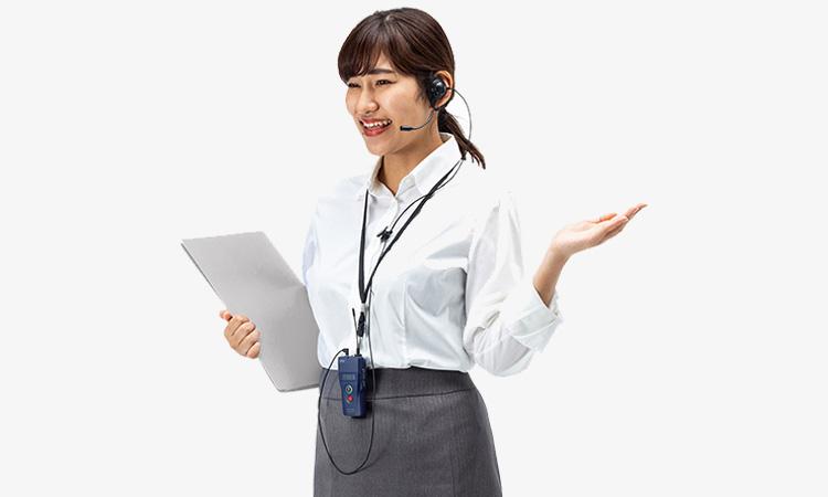 【サンワサプライ株式会社】安定した音声通信ができる、 ツアーガイドなどに便利なワイヤレスガイドシステムを発売の画像