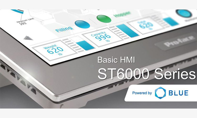 【シュナイダーエレクトリックホールディングス株式会社】プログラマブル表示器「ST6000シリーズ」および、画面作成ソフトウェア「BLUE Ver. 3.1 Service Pack 1」を公開!の画像
