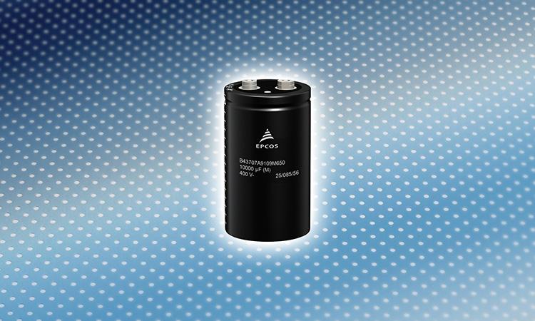 【TDK株式会社】アルミニウム電解コンデンサ:小型で高リプル電流耐量を実現したネジ端子形新シリーズの画像