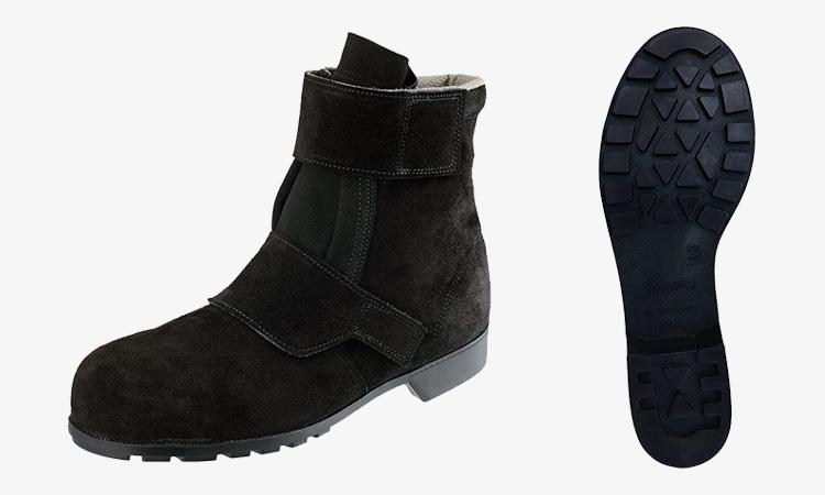 【株式会社シモン】新商品のお知らせ(528黒床靴)の画像