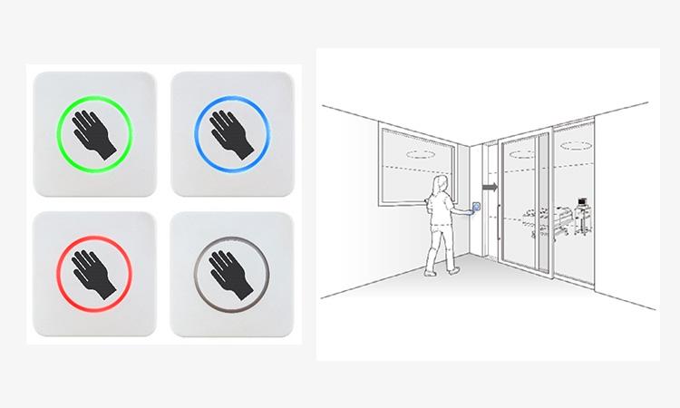 【オプテックス株式会社】自動ドア用非接触スイッチ「CleanSwitch」発売の画像