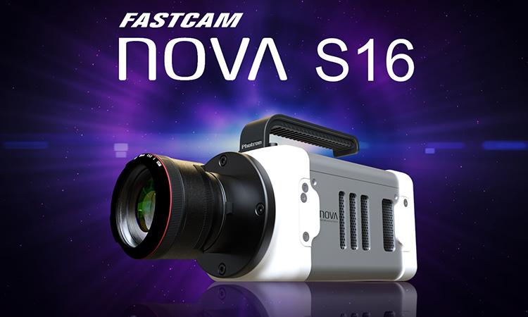 【株式会社フォトロン】高性能・小型軽量密閉筐体、100万画素で16,000fpsの撮影性能ハイエンド・コンパクト高速度カメラ「FASTCAM Nova S16」新発売の画像