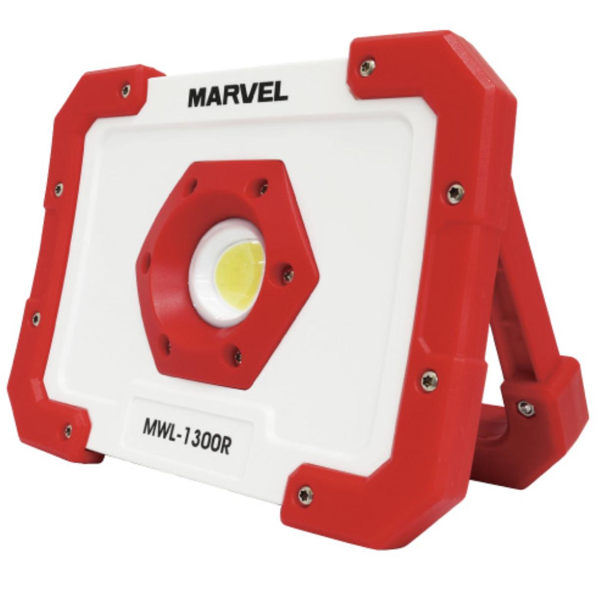 【マーベル】好きな角度で固定できる強力マグネット内蔵ハンドル!『LEDワークライト 充電式(MWL-1300R)』の画像