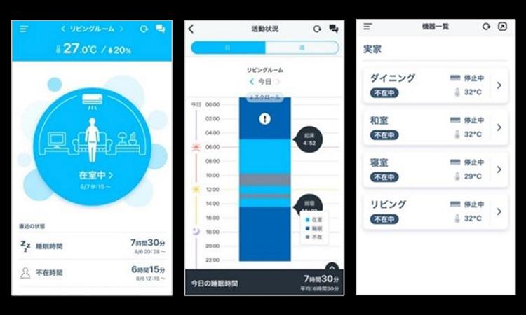 【ダイキン工業株式会社】ルームエアコン連動型見守りシステム『Daikin Support Life(ダイキンサポートライフ)』新発売の画像