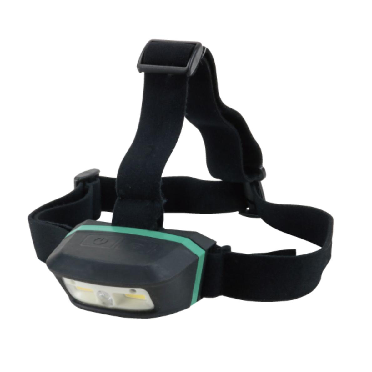 【ジェフコム】タッチレスセンサー付で汚れた手や手袋のままオン・オフ可能『LEDパランドルRX(充電式・ヘッドライトタイプ)』の画像
